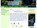 Website for an international conference: afmbiomed.org