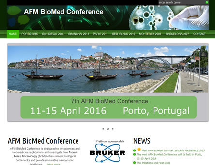 Conference websites: registration, online payment, abstract submission, Book of Abstracts